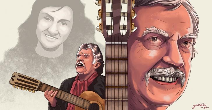 ángel parra, nueva canción chilena, legado, homenaje, folklore, exilio, música, circo