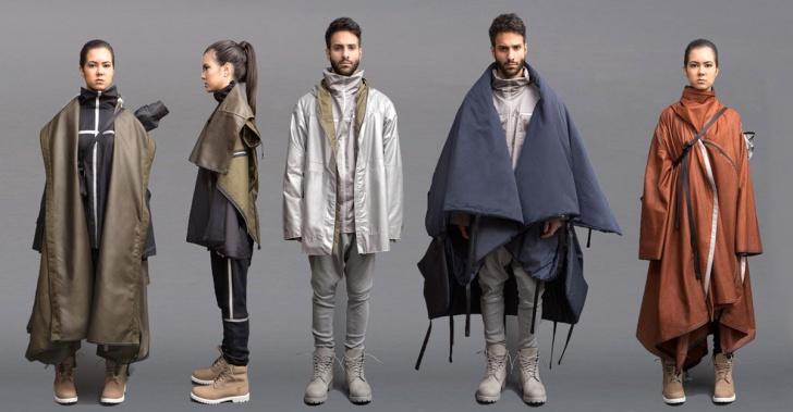 Diseño, vestuario, tesis, Angela Luna, refugiados, solución, ropa
