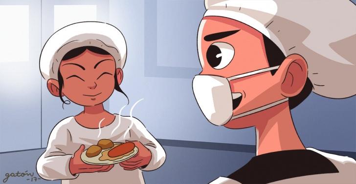 Japón, colegios, almuerzo, saludable, costumbres, programa, nutrientes