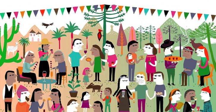 Malón, barrio, vecinos, amigos, El Gran Malón, plazas, parques, recetas.