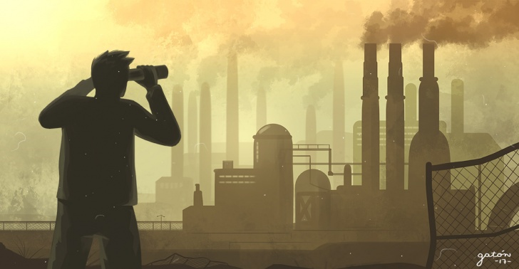 emisión de gases, industrias, tecnología, Chile