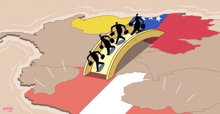 Venezuela, Perú, Mmaduro, migrantes, refugiados