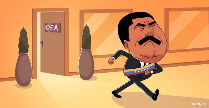 Venezuela, Maduro, OEA, democracia