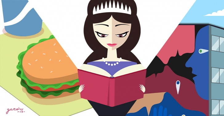 panoramas, museo, arte, Instagram, sandwich, comida, lectura, Reina Isabel II