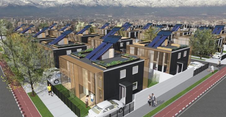 Vivienda social, Casa sustentable, sustentabilidad, Construye Solar, UDD