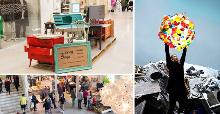 Reciclaje, Suecia, Centro comercial, Economía Circular