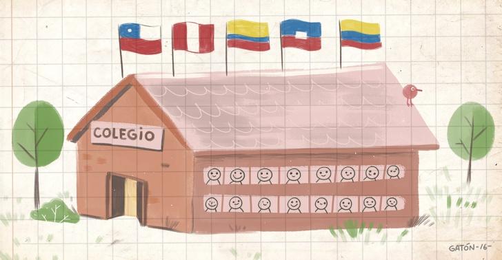 migrantes, Estación Central, educación, haitianos, Chile