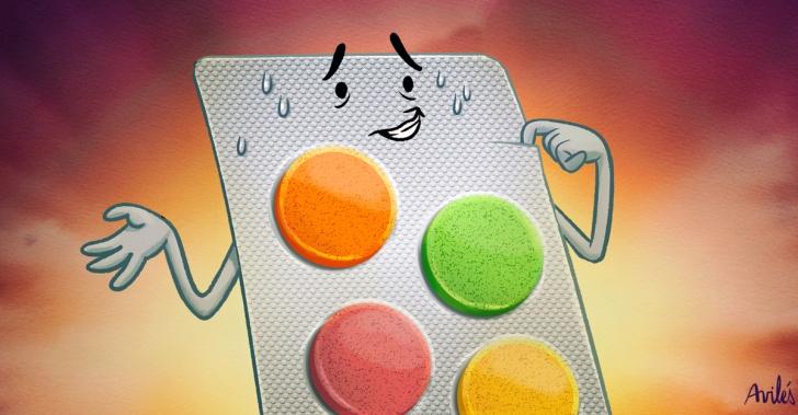 vitamina, c, resfrio, remedio, salud, invierno