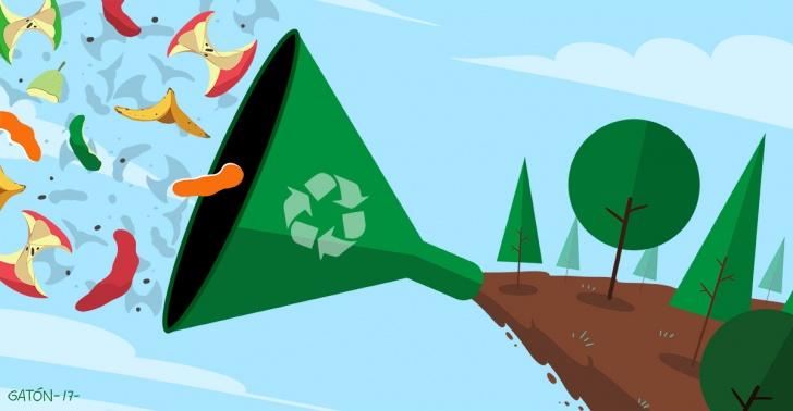 Compost, Urbanatika, sustentable, comunas, basura, orgánico.