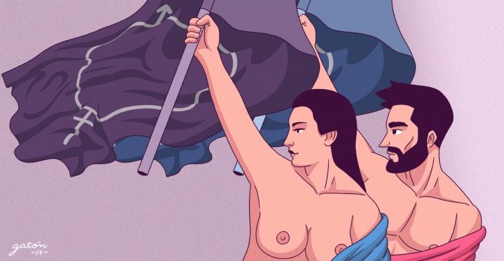 feminismo, igualdad, genero, machismo, hombre, mujer, sociedad, derecho