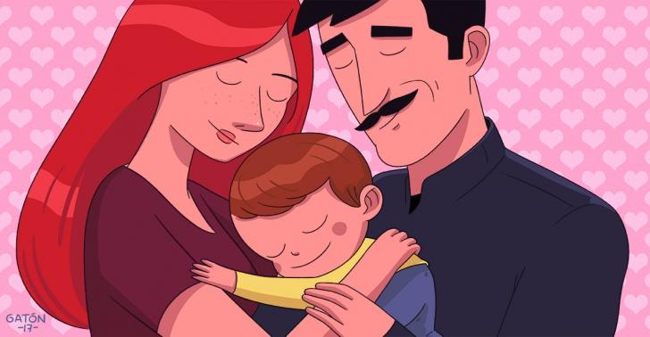 apego, crianza, seguridad, emociones, temperamento, padres, hijos