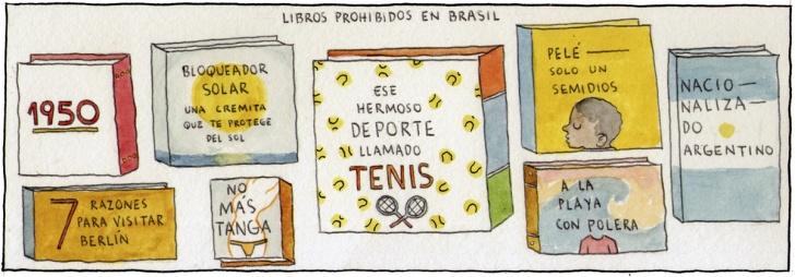 Literatura, Libros, Librerias, Lector, Brasil, America, Sudamerica, Futbol, Maracanazo, Maracana, Sexy, Bikini, Tanga, Tenis, Uruguay, Futbolista, Pele