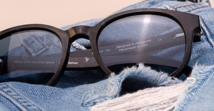 reciclaje, sustentabilidad, Karün, Empresas B, anteojos, lentes, jeans