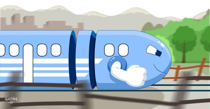 tren, bala, rapido, pais, propuesta, arica, puerto montt