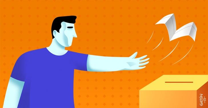 abstención electoral, política, elecciones
