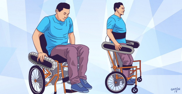 silla de ruedas, discapacidad, movilidad, autonomía