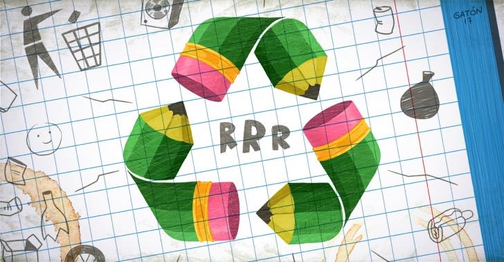 reciclaje, kyklos, medioambiente,