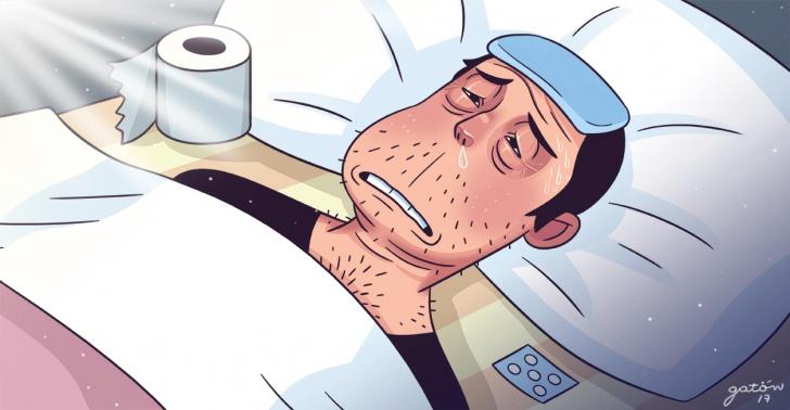 enfermedades, resfrío, doctores, médicos, salud