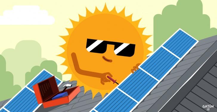 energía solar, energía alternativa, energía renovable, paneles solares fotovoltaicos, ahorro