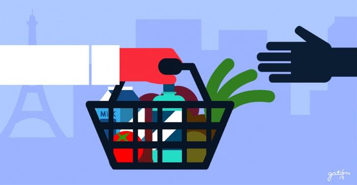 desperdicio de alimentos, supermercados, alimentación