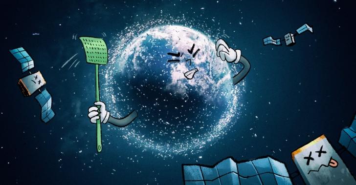 espacio, chatarra, basura espacial, basura, astronautas, naves, Tierra