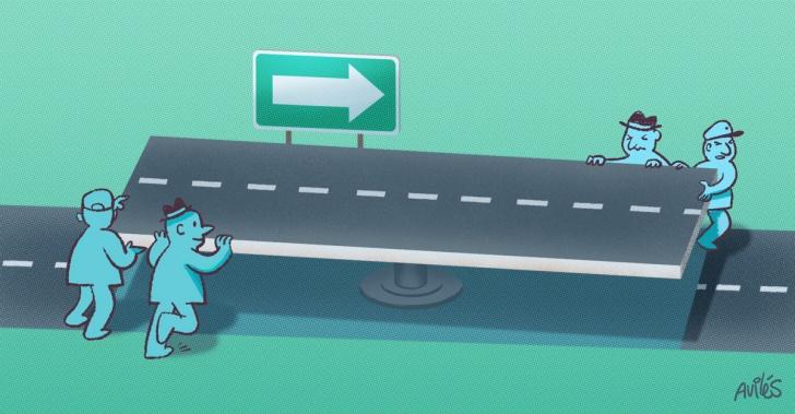 reversibilidad, vial, calle, sentido, transito, auto