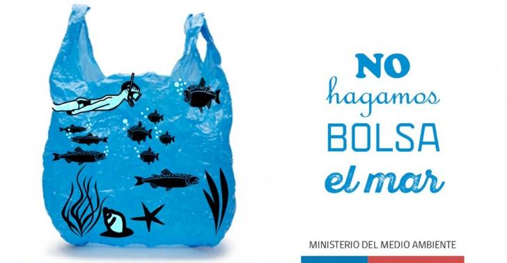 bolsas plásticas, océano, mares, contaminación