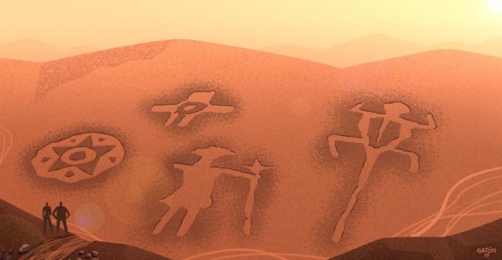 arte rupestre, cultura, pueblos originarios, Chug-Chug