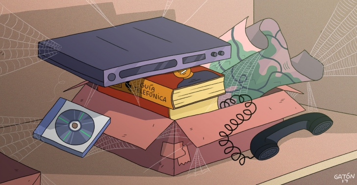 objetos, nostalgia, tecnologia, pasado, obsoleto, necesitar
