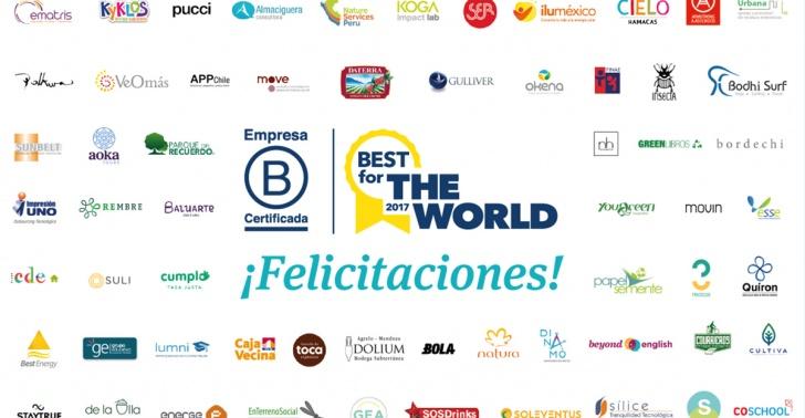empresa, b, reconocimiento, mundial, chile, cambio, positivo
