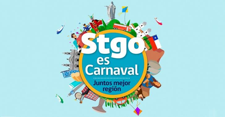 violeta parra, centenario, desfile, carnaval, santiago es carnaval, santiago es mío, intendencia, cultura