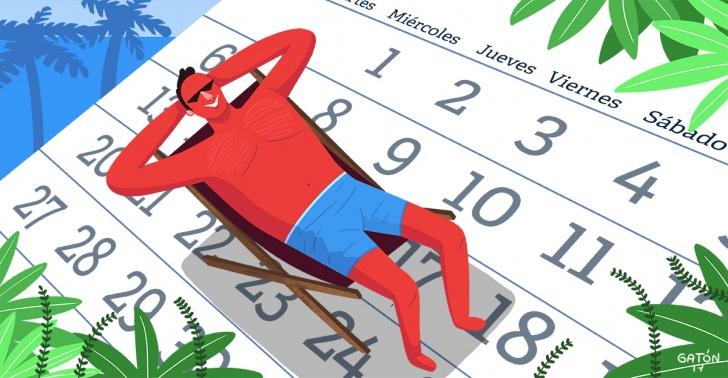 productividad, vacaciones, chile, proyecto, horas, trabajo