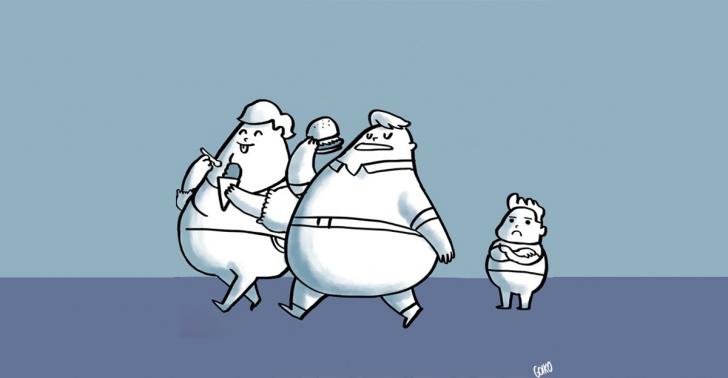 salud, obesidad, niños, alimentación