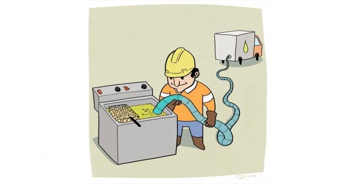 reciclaje, aceite, biodiesel, general rendering, residuos, reutilización
