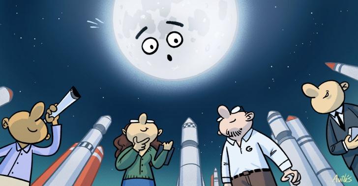 luna, espacio, nasa, exploración, ciencia, marte