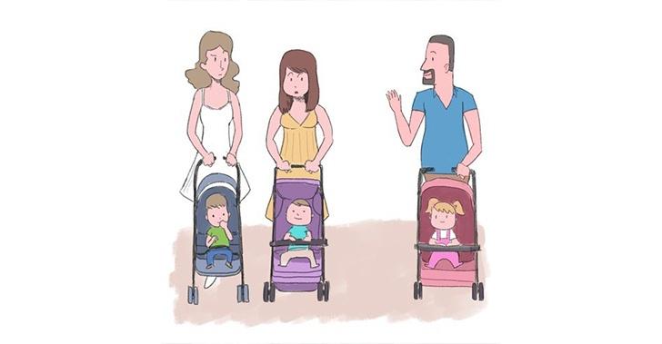 Monoparental, masculino, padre, soltero, hijos, corresponsabilidad, leyes