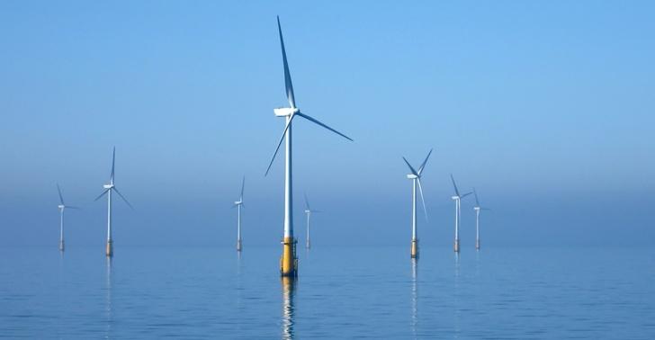 parque, eolico, marino, energia, viento, mar