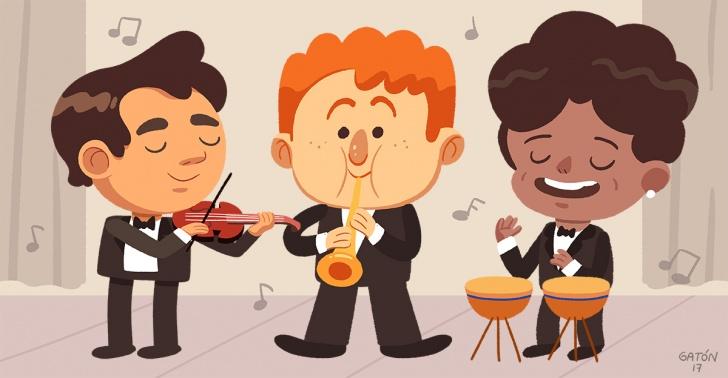 orquestas, infantiles, juveniles, FOJI, música, talentos, educación musical, desarrollo social, educación