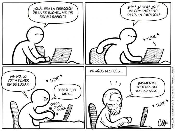 internet, redes sociales, twitter, facebook, debates, distracciones, discusiones, comentarios, olvidos, improductividad, computadores, computación