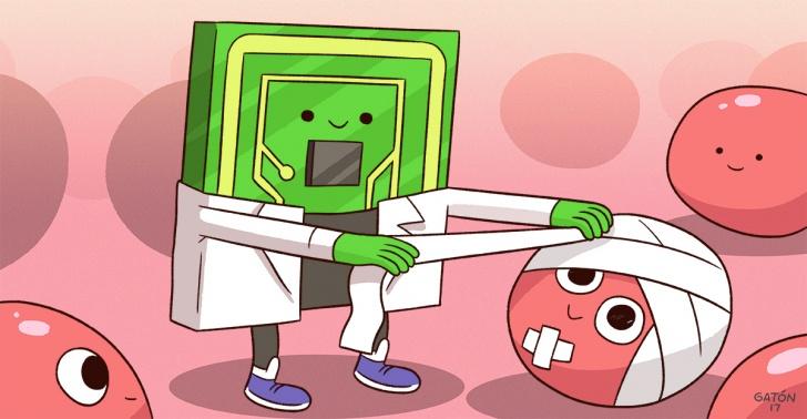 nanotecnología, chip, medicina, salud, regeneración de tejidos