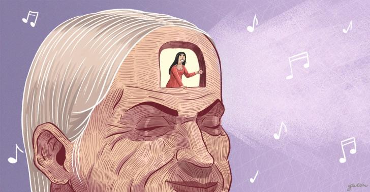 alzheimer, adultos mayores, música, recuerdos, memoria, alive inside