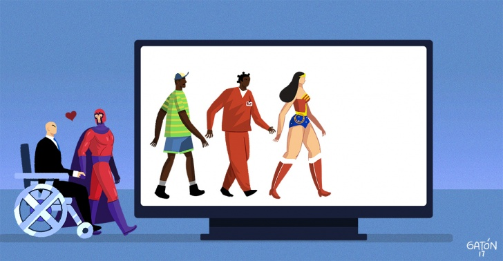tv, television, inclusion, racial, genero, sexo, mujer, LGBT