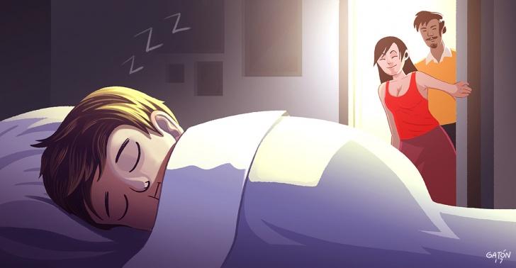 Niños, acostarlos, consejos, noche, dormir, sueño, tiempo.