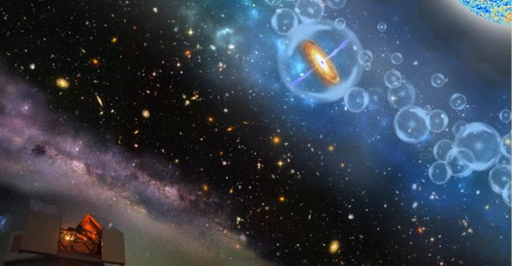 ciencia, astronomía, descubrimiento, agujero negro, Nature, Eduardo Bañados