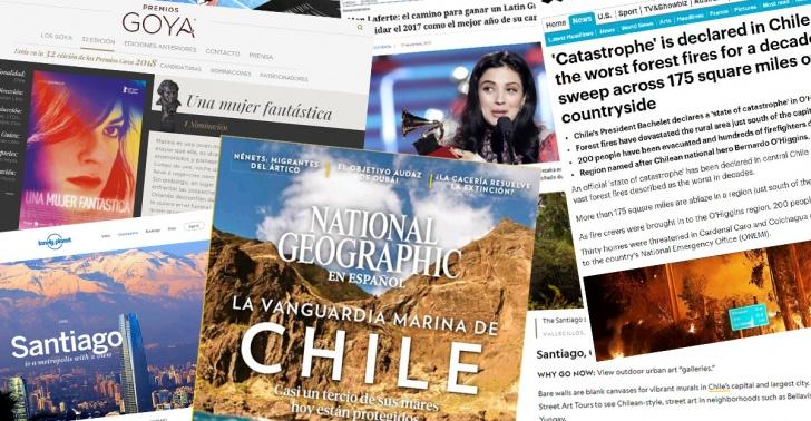 Chile, noticia, 2017, mundo, líderes, energía, protección, astronomía, turismo.