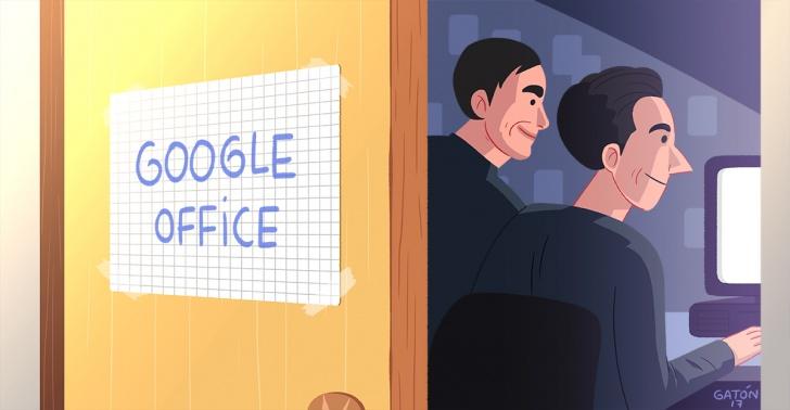 Google, Larry Page, Sergey Brin, internet, emprendimiento, innovación