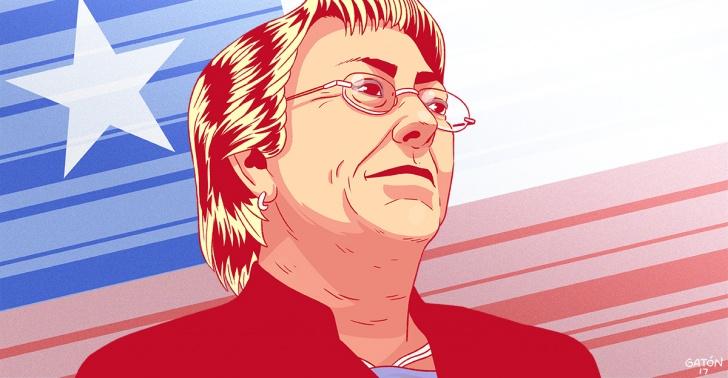 michelle, bachelet, presidenta, gobierno, chile, pais, eleccion