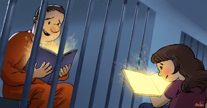 prisión, cárcel, presos, hijos, padres, paternidad, crianza, literatura, cuentos infantiles