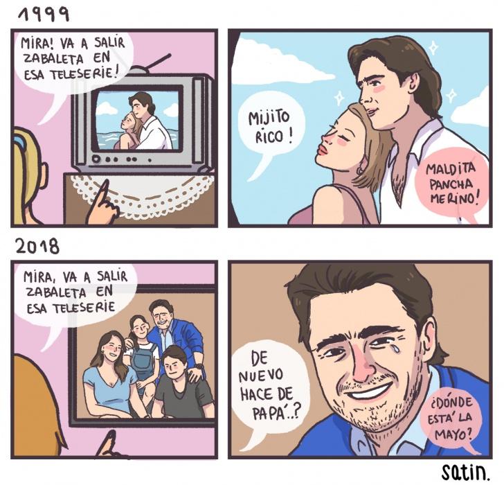 tele, tv, telenovela, teleserie, actor, hermoso, teamo, papá