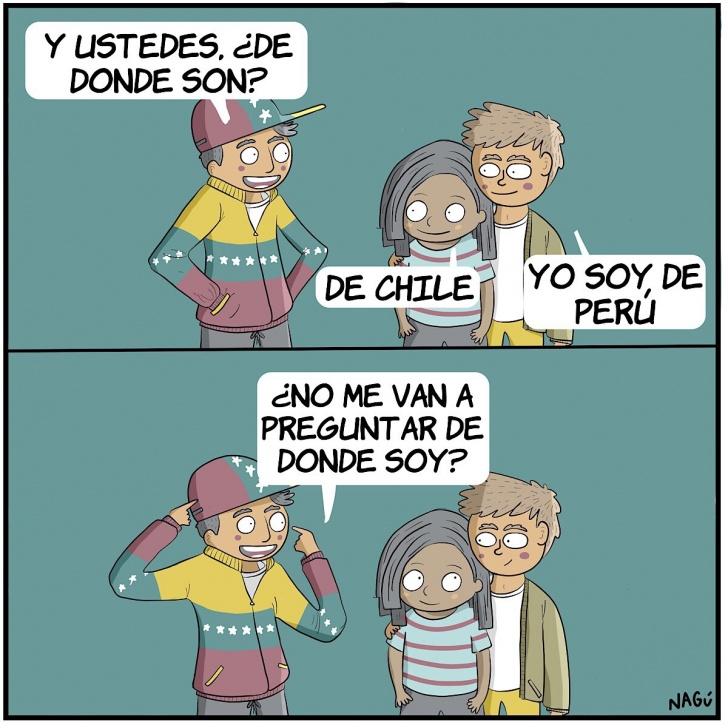 Venezuela, amigos, ropa, humor, nagu